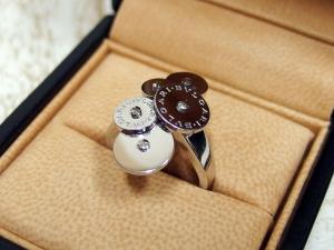 ブルガリ BVLGARI チクラディ リング K18WG ホワイトゴールド 指輪の買取実績