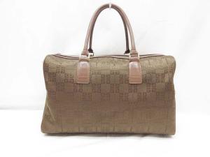 ジバンシィ GIVENCHY バッグ ボストンバッグ オールド 織り模様 ブラウン系 K141の買取実績