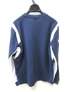 ナイキ NIKE LOAC Tシャツ 長袖 カットソー プリント スポーツウェア M 紺 ○ ● O683 メンズの買取実績