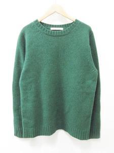 ジャーナルスタンダード JOURNAL STANDARD ニット セーター 長袖 ウール 毛 M 緑系 ●☆ K232 メンズの買取実績