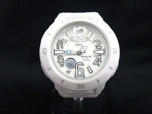 ベビージー Baby-G ネオンマリン ウォッチ 腕時計 ホワイト 白 BGA-170