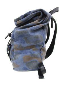 3.1 フィリップリム 3.1 phillip lim 鞄 リュック デイパック キャンバス フェイクレザー 迷彩 カモフラ 紺の買取実績