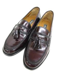 バリー BALLY 靴 BELLO2 タッセルローファー ブラウン 茶色 41 1/2 イタリア製 26cm メンズ