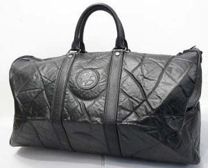 ハンティングワールド HUNTING WORLD ボストンバッグ 鞄 バチュークロス 旅行 トラベル ビニール ナイロン レザー ブラック