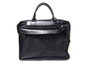 フェリージ Felisi 8637/2 バッグ ハンド ビジネス ナイロン レザー 黒 ブラック M2060