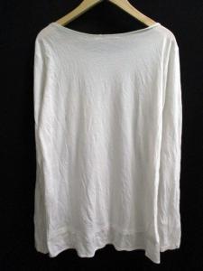 アレキサンダーワン ALEXANDER WANG Tシャツ カットソー 長袖 胸ポケット 無地 XS 白 k3836の買取実績