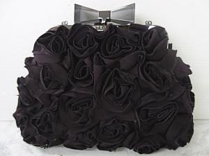 アンテプリマ ANTEPRIMA パーティーバッグ ハンドバッグ クラッチバッグ 2WAY 花柄 リボン装飾 紫 パープル VP OC224の買取実績