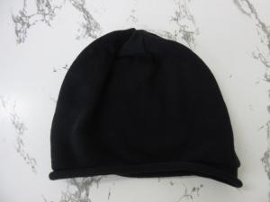 カシラ CA4LA 帽子 ニットキャップ 薄手 黒 ブラックの買取実績