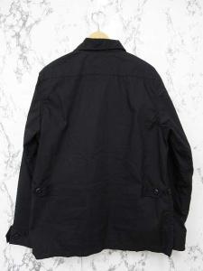 アルファ ALPHA 美品 コットンジャケット BDU 長袖 ミリタリー ブラック 黒 Lの買取実績