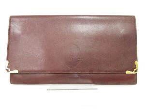 カルティエ Cartier ドキュメントケース マストライン ロゴマーク ボルドーの買取実績