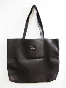 ビームス BEAMS トートバッグ ハンドバッグ 鞄 大きめ レザー シンプル ブラウン 茶 メンズ