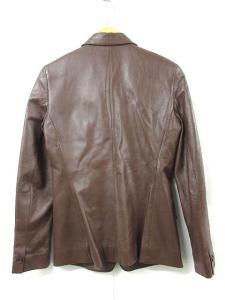 アナイ ANAYI テーラード ジャケット ラムレザー 38 茶 R-6233Sの買取実績