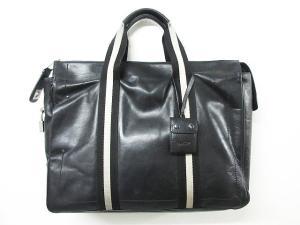 バリー BALLY TAPRUS ブリーフケース ハンドバッグ ビジネスバッグ カデナ 革 レザー ロゴ 刻印 黒