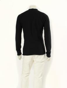 ニールバレット Neil Barrett Tシャツ カットソー 黒 ブラック M トップス 長袖 コットン100% 無地 ヘンリーネックの買取実績