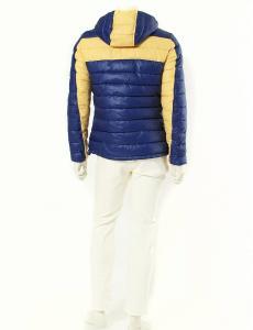 アルマーニ ジーンズ ARMANI JEANS ダウンジャケット 紫 パープル 黄色 L アウター EU48 リバーシブルの買取実績