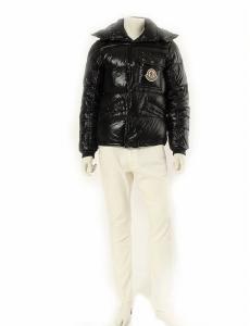 モンクレール MONCLER ダウンジャケット ネイビー 紺 M アウター 2 ナイロン100% フェザー 41303 K2 ケーツー メンズ
