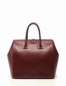 カルティエ Cartier ボストンバッグ ボルドー ゴールド金具 レザー マストライン 保存袋付き レディースの買取実績