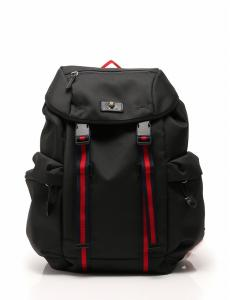 グッチ GUCCI バッグパック リュック 黒 テクノキャンバス 429037 保存袋付き メンズ レディース