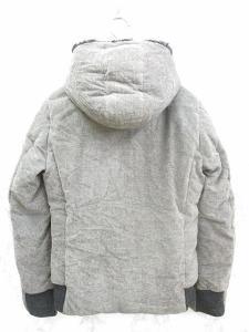 オーレット OURET ダウン ジャケット パーカ ボア レーヨン グレー メンズ K11Mの買取実績