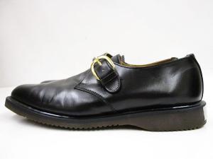 ロイド フットウェア Lloyd Footwear レザーシューズ モンクストラップ シングル 英国製 7 1/2 EE 黒の買取実績