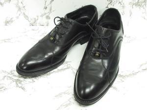 ルイヴィトン LOUIS VUITTON ビジネスシューズ 革靴 オックスフォードシューズ レザー 黒 5 ※NS-0825 ※02