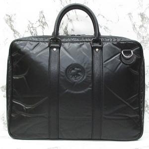 ハンティングワールド HUNTING WORLD トートバッグ バチュークロス ビジネスバッグ ナイロン レザー 鞄 黒 ※MM-3974 ※02