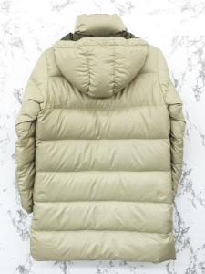 アディダス adidas ベンチコート ダウン ジャケット ハーフ ジップアップ フード ロゴ 刺繍 緑系 M ◇YS-1685 ◇01 レディースの買取実績