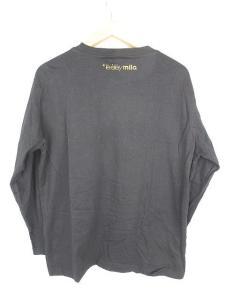 アベイシングエイプ A BATHING APE カットソー Tシャツ 長袖 ロンT BAPE ベイプ ベビーマイロ 黒 XL SSAW メンズの買取実績