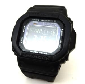 ジーショック G-SHOCK 腕時計 電波ソーラー MULTI BAND5 メタルコアバンド 文字盤ブラック GW-M5600BC