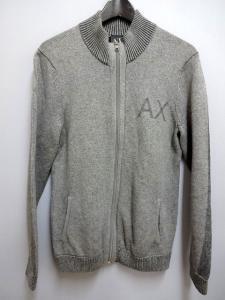 アルマーニエクスチェンジ A/X ニット セーター ジップアップ コットン M グレーの買取実績