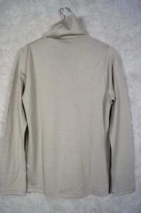 未使用品 アトウ ato 14AW ニット セーター ハイネック ウール 48 グレーベージュの買取実績