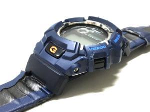 カシオジーショック CASIO G-SHOCK ジャンク G-LIDE GL-170 タフソーラー 腕時計 ネイビー 紺 SSAW メンズの買取実績