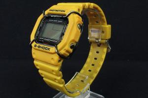 ジーショック G-SHOCK SHOCK RESISTANT 腕時計 20気圧防水 DW-5600E 黄色 ジャンク品 TM6078