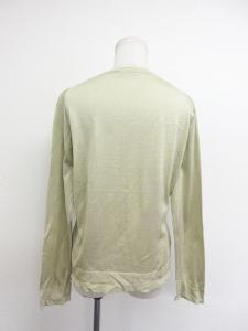ジバンシィ GIVENCHY カーディガン ニット 長袖 丸首 黄緑 L ※EYSの買取実績