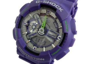 ジーショック G-SHOCK GA-110DN 腕時計 ウォッチ ダスティ・ネオン・シリーズ 紫 ※HT