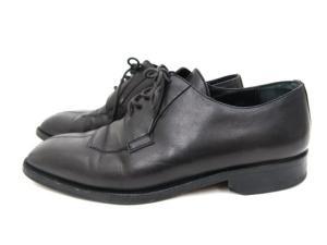 ジバンシィ GIVENCHY ビジネスシューズ 革靴 スクエア 黒 ブラック 40.5 【フクウロ】【0120-1-3】の買取実績