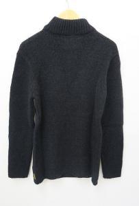 アルマーニ ジーンズ ARMANI JEANS ニット プルオーバー セーター タートル 黒 ブラック Lの買取実績