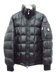 モンクレール MONCLER ダウンジャケット BERLON ベルロン 黒 ブラック 1 IBS メンズ