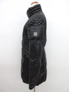 アルマーニ ジーンズ ARMANI JEANS ダウンコート ハーフ丈 黒 ブラック 42 IBS 1019 レディースの買取実績