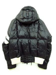 モンクレール MONCLER LEON ダウンジャケット フード付き デカワッペン 黒 白 2 IBS 1212 メンズの買取実績