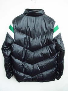 ナイキ NIKE ダウンジャケット NSW 700フィル 黒緑Lの買取実績