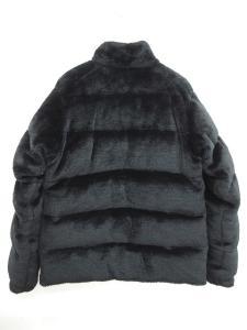 アベイシングエイプ A BATHING APE ダウンジャケット ダブルジップ ホワイトグース 黒 ブラック M 0604の買取実績