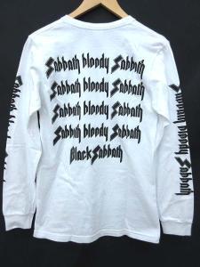 シュプリーム SUPREME 16SS Tシャツ 長袖 Black Sabbath サバス 白 ホワイト S 0705