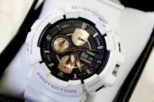 ジーショック G-SHOCK アナデジ 腕時計 GAC-100RG-7AJF 白 /J