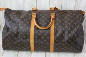 ルイヴィトン LOUIS VUITTON モノグラム ボストンバッグ 旅行 鞄 キーポル55 M41424 茶 /J SSAW ユニセックスの買取実績