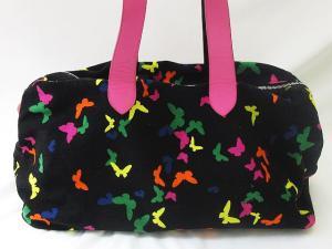 ポールスミス PAUL SMITH ボストン バッグ 大きめ 鞄 蝶 黒 ピンクの買取実績