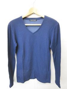 5351プールオム 5351 POUR LES HOMMES カットソー Tシャツ 長袖 Vネック 青紫 2