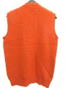ジャミーソンズ jamieson's シップス 別注モデル ニット ベスト フェアアイル柄 スコットランド製 赤系 メンズの買取実績