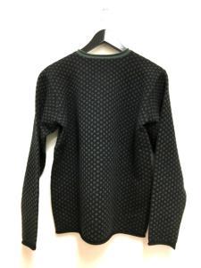 アルマーニ コレツィオーニ ARMANI COLLEZIONI 総柄 カシミヤ ニット セーター 長袖 48 ブラック 黒 秋冬 メンズの買取実績