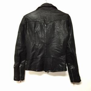 【BACKLASH/バックラッシュ】 ISAMU KATAYAMA/イサムカタヤマ/レザーシャツ/チェック/青系/ブルー/日本製/本革/豚革/1036-01/サイズ表記なしの買取実績